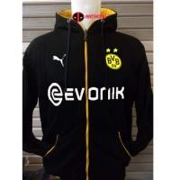 Hoodie BORUSSIA DORTMUND Jaket Bola Dortmund Jersey Dortmund PS4
