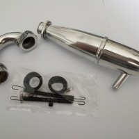 MK1 RACING PIPE with manifold ENGINE for 1:8 rc car