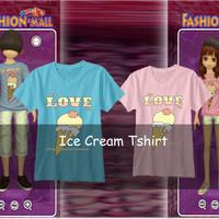 Kaos Ayodance / Tshirt Ice Cream shirt