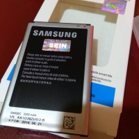Jual Original 100 Baterai Batre Battre Batere Samsung Galaxy Note 3 / Note3 Murah