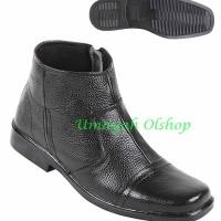 Sepatu Pria Bahan Kulit Boots uo 2009 Zeintin