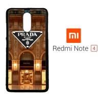 PRADA W3040 Xiaomi Redmi Note 4 Custom Case Cover
