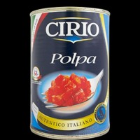 CIRIO POLPA TOMATOES 400GR Tomat Import Italy