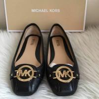 Jual Sepatu Michael Kors MK Fulton MOC Black ghw