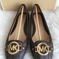 Jual Sepatu Michael Kors MK Fulton Moc Signature Brown