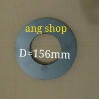 harga Magnet Diameter 156mm Tebal 3cm Magnet Speaker Tokopedia.com