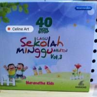 VCD Karaoke 40 Non Stop Lagu Sekolah Minggu Abadi Vol. 3
