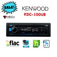 harga Kenwood KDC-100UB Single Din KDC100UB Head Unit KDC 100 UB Tape Mobil Tokopedia.com