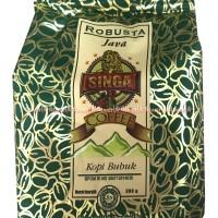 Jual Singa Coffee Robusta Java Jawa Kopi Bubuk Singa Hijau Green 360gr Murah