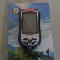 Outdoor altimeter alat pengukur 8 in 1 digital kompas termometer