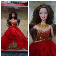 Jual Barbie Mattel Holiday 2014 Brunette Murah