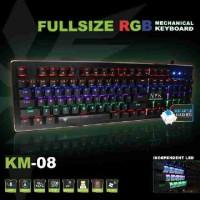 Nyk Keyboard Gaming Mechanical RGB KM-08 Full Size
