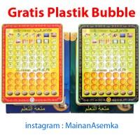 Mainan Edukasi Murah Playpad Muslim 50 Surat + Doa Doa Sehari Hari