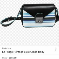 LUXE COLLECTION: LONGCHAMP LE PLIAGE HERITAGE LUXE SMALL CROSSBODY BAG