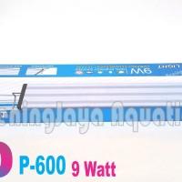 Jual Lampu LED YAMANO P600 9Watt ( 50 -60 CM) Untuk Aquarium / Aquascape Murah