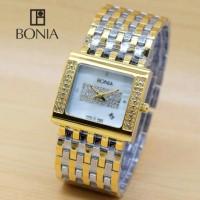 Jam Tangan Fashion Bonia Ladies Watch HB604 - Combi Gold