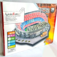 Jual 3D Puzzle Stadium Series - NO CAMP BARCELONA Murah
