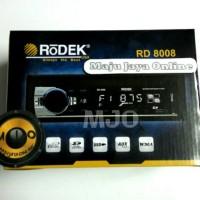harga Tape mobil MP3 PLAYER RODEK RD 8008 Tokopedia.com