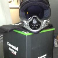 harga helm kawasaki klx 150 cc (motor cross) Tokopedia.com