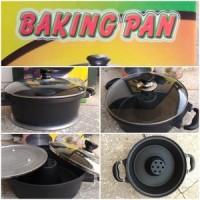 BAKING PAN IMPORT ALAT CETAK KUE BOLU LOYANG PEMBUAT KUE tanpa oven