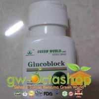 Glucoblock Capsule Untuk Membantu Menstabilkan Gula Darah
