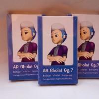 Jual Kartu Ajaib Edukasi Animasi AR 4D Sholat 3D (AR Shalat) Gg.7 Murah