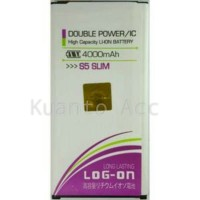 Baterai Log on Samsung S5 Slim/Replika/Batre/Original/Double Power