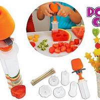 Baru Pop Chef Fruit Cutter Food # Pemotong dekorasi buah-buahan u/ pri