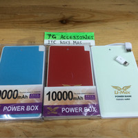 power bank limax 10000mah original real +konektor charger iphone5