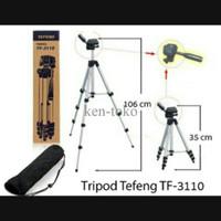 Promo SPECIAL TEFENG TF-3110 MINI TRAVEL TRIPOD - RINGAN & PORTABLE TE