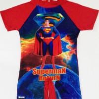 RNKD37 - Baju Renang Anak Diving Superman Return (UKURAN XXL) Murah