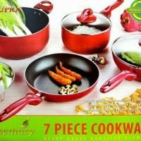 Jual Panci Supra set 7 pcs cookware Rosemary (murah + berkualitas) Murah