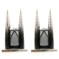 souvenir malaysia twin tower petronas menara kembar