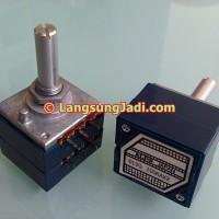 ALPS RK27 Blue Velvet 50kAx2 stereo potentiometer potensio