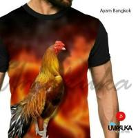 harga Kaos Full Print Umakuka - AYAM BANGKOK Tokopedia.com