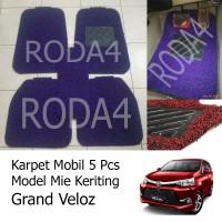 Karpet Mobil / Floor Mats Universal Mie Keriting Grand Veloz