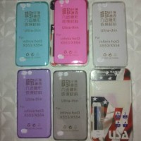 Softcase Ultra Thin TPU Transparant + Tempered Glass USA Infinix Hot 3