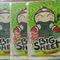 Big Sheet Tao Kae Noi Crispy Seaweed Classic Flavor 4gram