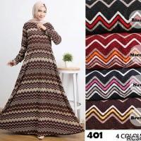 Jual Maxi Dress Dior Embos Lurik Gamis Busana Muslim Longdress RC3417 Murah