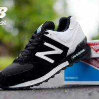 New Balance 574 Man Black White