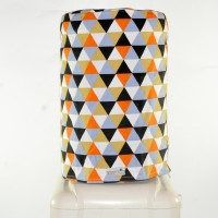 Cover dispenser / Cover galon - Triangle Black Orange