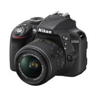Nikon D3300 Kit Black ( VR II 18-55mm ) Kamera DSLR 24.2 MP SLR Hitam