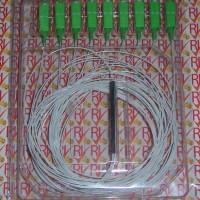 harga 3Pcs/Box 1x8 PLC Splitter SC APC FO/Fiber Optic/Optik Premium Grade Tokopedia.com