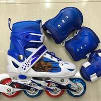 Sepatu roda inline skate karakter power aosite free dekker