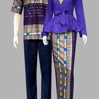 Couple batik sarimbit kebaya pesta baju pasangan seragam 1982