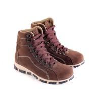 Sepatu Anak Laki Sneaker Boots Suede Garsel GMU 9532