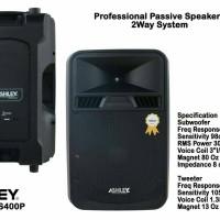 speaker pasif Ashley 15 inch ss-400 P original ( satu pasang )