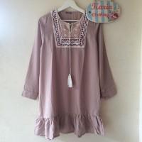 Jual [ Dress Cewek / Wanita ] - Ethnic Flare Dress - Milo Murah