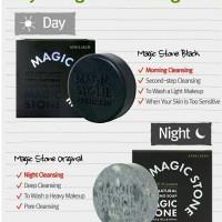 Jual April Skin Magic Stone Cleansing Soap Set 25gr+25gr (SHARE) Murah
