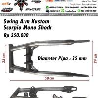 harga Swing arm custom scorpio monoshock Tokopedia.com